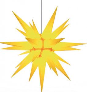 Wohliger Schein: HERRNHUTER Sterne und Sternenketten, verschiedene Größen, verschiedene Farben