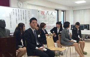 同盟学寮の新成人 (一部)