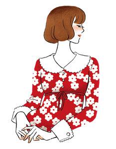 LATE 60's STYLE GIRL/2016.11