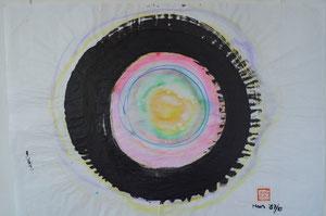 Zen-Kreis farbig/1987+1990/50,0x46,0/3S78-353