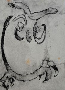 Eule/9,1x12,2 cm/ ID: R122-2248,1