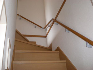 階段と手摺