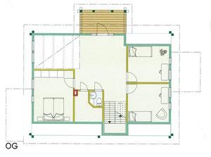 Einfamilienhaus - OG Grundriss