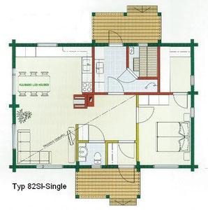 Kuusamo Blockhaus 82SI - Single - EG