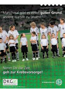 """Motiv 1 - Kampagne 2011 """"Nimm Dir die Zeit, geh zur Krebsvorsorge"""""""