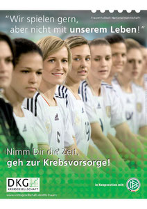 """Motiv 2 -  Kampagne 2011 """"Nimm Dir die Zeit, geh zur Krebsvorsorge"""""""