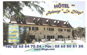 HOTEL AUBERGE DE LA DIEGE