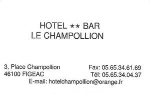 HOTEL LE CHAMPOLION