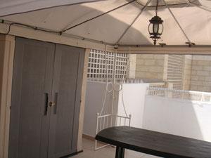 2ème balcon couvert