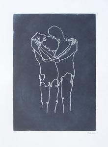 2016 Linolschnitt 30 x 21 cm