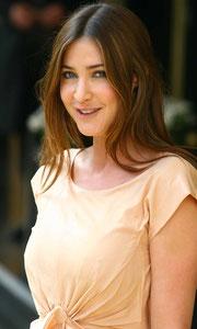 Lisa Sowdon arriving at the Dorchester Hotel. London UK