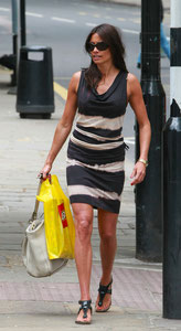 Melanie Sykes out in London UK