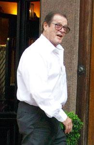 Roger Moore London UK