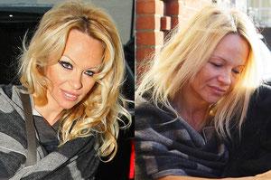 Pamela Anderson London UK