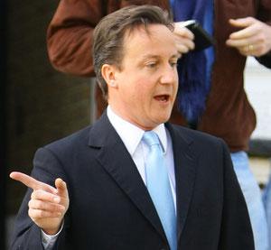 David Cameron London UK