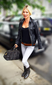 Kate Moss out in London, UK