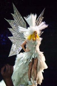 Lady GaGa in concert. London UK
