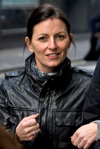 Davina McCall London UK