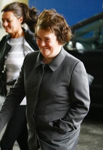 Susan Boyle London UK
