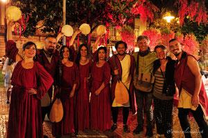 "Ruben Monteiro with his group ""Albaluna"" of Portugal"