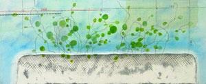 Layered Landscape(「堆積」のためのマケット) W305×D125㎜