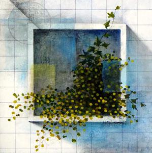 Layered Landscape -劣化と繁茂- W300×D300㎜