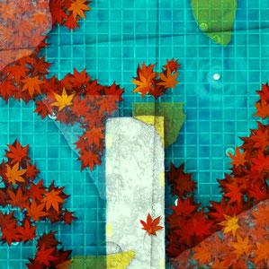 カタルシス ~Autumn~ 落葉 W606×H606㎜