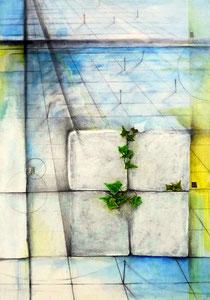 Layered Landscape -半径という死角- W364×D515㎜