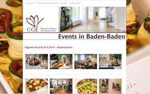 Events, Veranstaltungen, Kurse, Ausstellungen, Vorträge in Baden-Baden