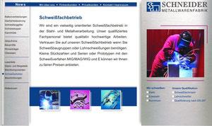 Handwerksmarketing, Metallbaubetrieb, Website für einen Handwerksbetrieb, Logoentwicklung und Geschäftsausstattung, Fotografie