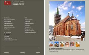 Handwerksmarketing, Steinmetzbetrieb, kleine Website für einen Handwerksbetrieb, techn. Aufbau