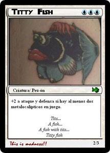 Carta Titty Fish