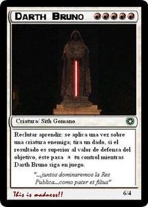 Carta Darth Bruno