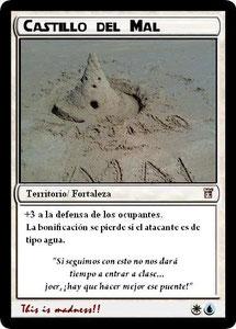Carta Castillo del Mal