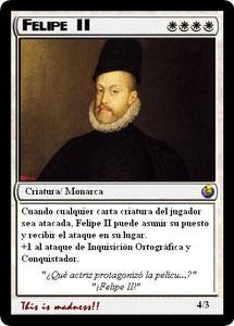 Carta Felipe II