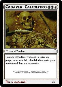 Carta Cadáver Calcolítico