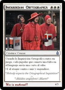 Carta Inquisición Ortográfica