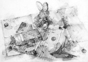 M.Kさん作 鉛筆による細密描写