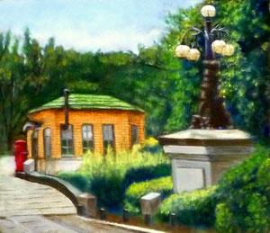 Y.Hさん作 風景(小金井公園)油彩