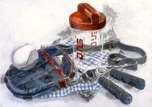 Y.Nさん作 鉛筆淡彩による細密描写