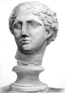 Y.Tさん作 石膏像(ラボルト)デッサン