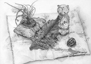 N.Mさん作 鉛筆による細密描写