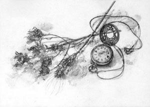 K.Uさん作 鉛筆による細密描写