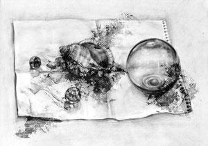H.Wさん作 鉛筆による細密描写