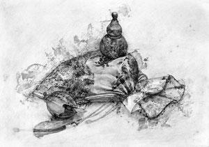 N.Hさん作 鉛筆による細密描写