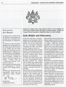 Auszüge aus der Jubiläumsausgabe