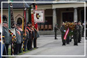 Totengedenken Militärkommando Salzburg am 02.10.2017