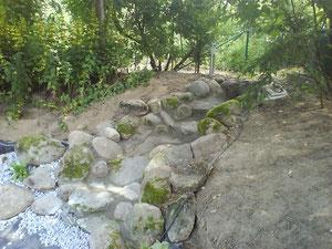 Korfmacher Gärten Wasserlauf