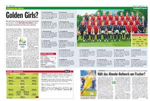 Deutsche Frauen Nationalmannschaft, Kicker, 18.08.2016