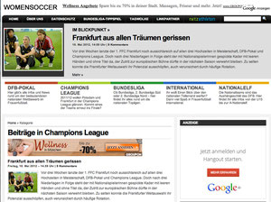 Women Championsleague Final 2012, womensoccer.com